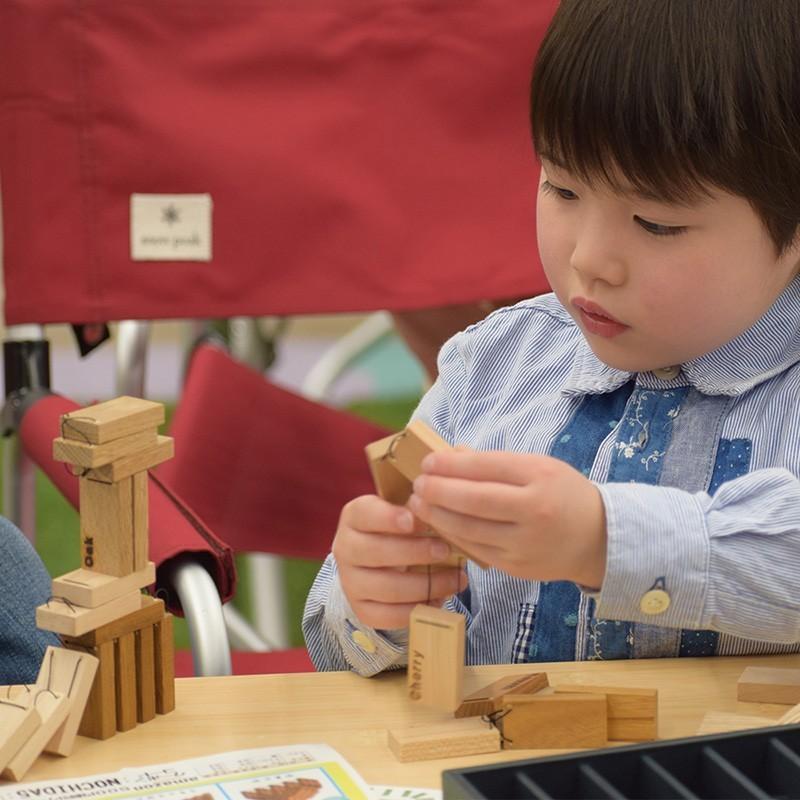木のおもちゃ DOMIGO(ドミゴ)プレゼント ノベルティ 積み木 ドミノ 知育玩具 nochida 06