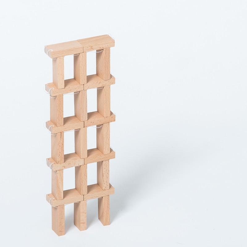 木のおもちゃ DOMIGO(ドミゴ)プレゼント ノベルティ 積み木 ドミノ 知育玩具 nochida 10