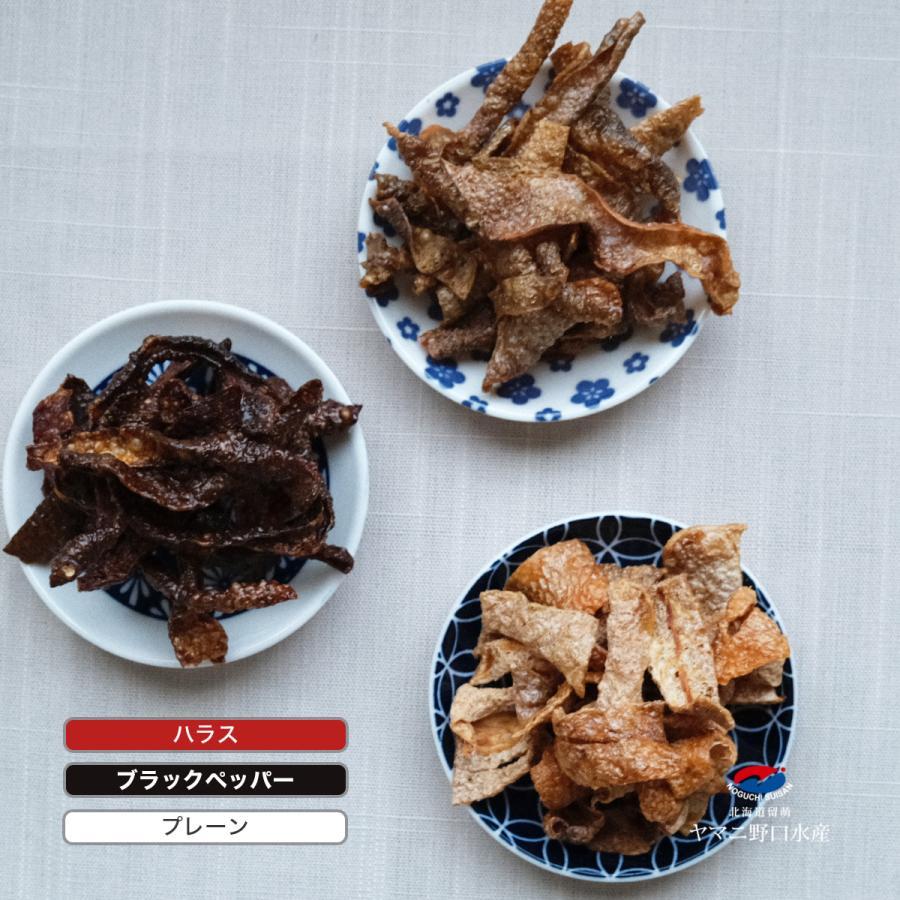 送料無料 3種類から選べる 北海道産 鮭皮チップス プレーン 35g 鮭 とば トバ 鮭とば 鮭トバ 珍味 おつまみ プレゼント ギフト 限定|noguchisuisan