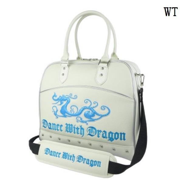 ダンスウィズドラゴン Dance With Dragon ゴルフバッグ ボストンバッグ ドラゴン 大容量 おしゃれ D3-373001 SALE