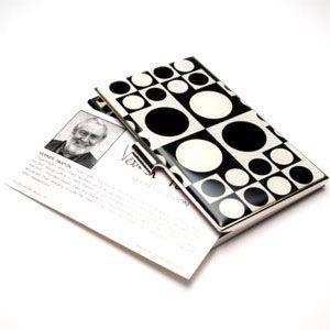 名刺入れ アクメスタジオ デザイナー ヴェルナー・パントン GEOMETRIシリーズ ビジネス カードケース CVP01BC nomado1230 02