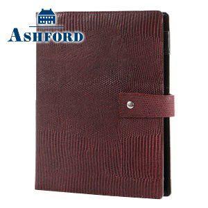 システム手帳 A5 革 アシュフォード 名入れ無料 ネオフィナード A5 システム手帳 15ミリ ホックベルト パープル 3084-078 3084|nomado1230