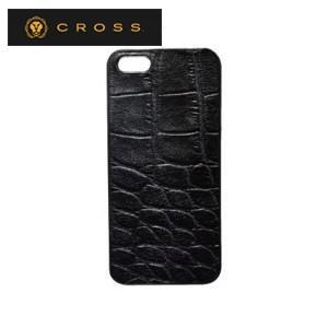 iphoneケース クロス ココ・バイ・カラー iPhoneケース ブラック AC058190-1|nomado1230
