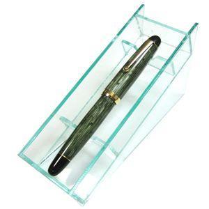 ペントレイ ココラボ 即納 ペンコレクショントレイ クリアグリーン P01001CL|nomado1230|04