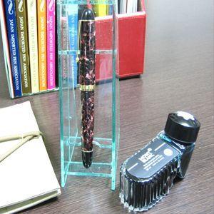 ペントレイ ココラボ 即納 ペンコレクショントレイ クリアグリーン P01001CL|nomado1230|05