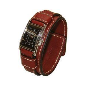腕時計 革 ケイシーズ(KCs) ウォッチブレス レディース バージニア ブラウン KIR516B|nomado1230