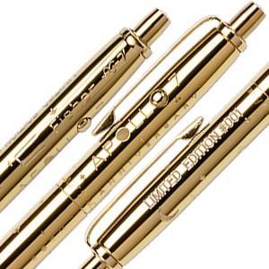 高級 ボールペン フィッシャー 限定版 アポロ7号50周年記念 ゴールドチタニウム アストロノートスペースペン&コインセット AG7-LE nomado1230 06