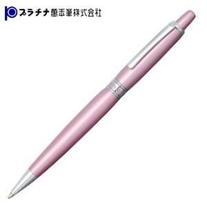 高級 ボールペン 名入れ プラチナ万年筆 限定品 アフェクション メタリックカラー ボールペン メタリックピンク BAF-2000cl18|nomado1230