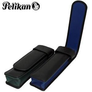 ペンケース 革 名入れ ペリカン TGペンシース 2本用 グリーン TG-22N|nomado1230