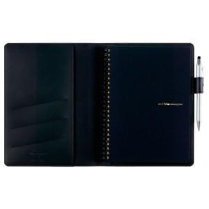 マルマン限定品 ラガシャ A5 ノートカバー ブラック LANC195-05|nomado1230|03