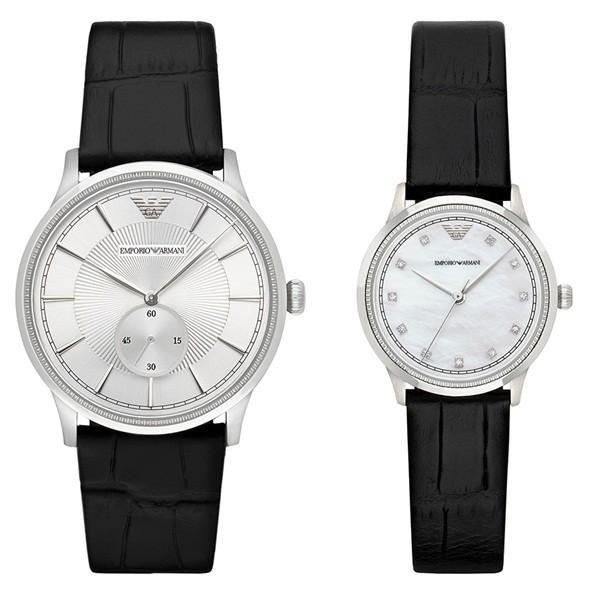 de145919e1 エンポリオアルマーニ ペアウォッチ レザー AR9111 :AR9111:腕時計 ...