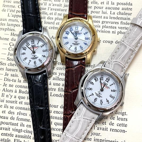 電波ソーラー 腕時計 レディース シチズン Q&Q キューアンドキュー 国内正規品|nopple|02