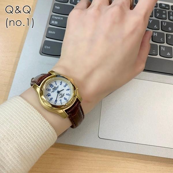 電波ソーラー 腕時計 レディース シチズン Q&Q キューアンドキュー 国内正規品|nopple|05