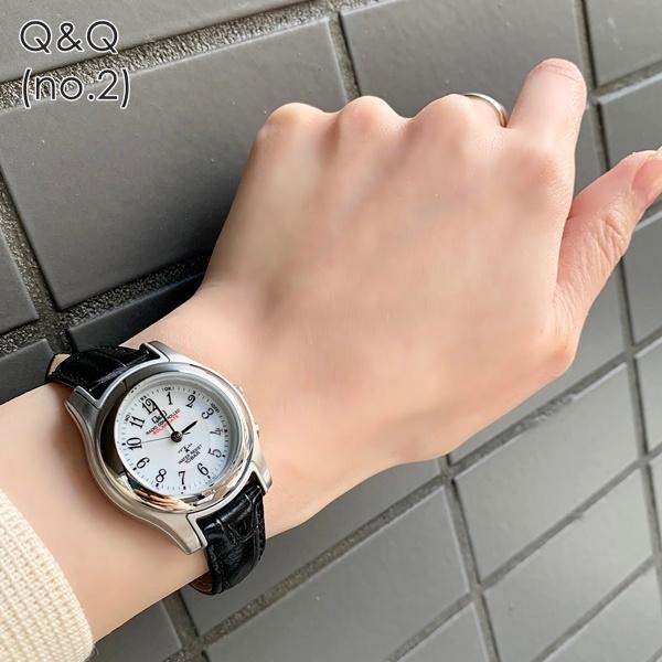 電波ソーラー 腕時計 レディース シチズン Q&Q キューアンドキュー 国内正規品|nopple|06