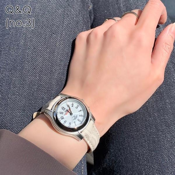 電波ソーラー 腕時計 レディース シチズン Q&Q キューアンドキュー 国内正規品|nopple|07