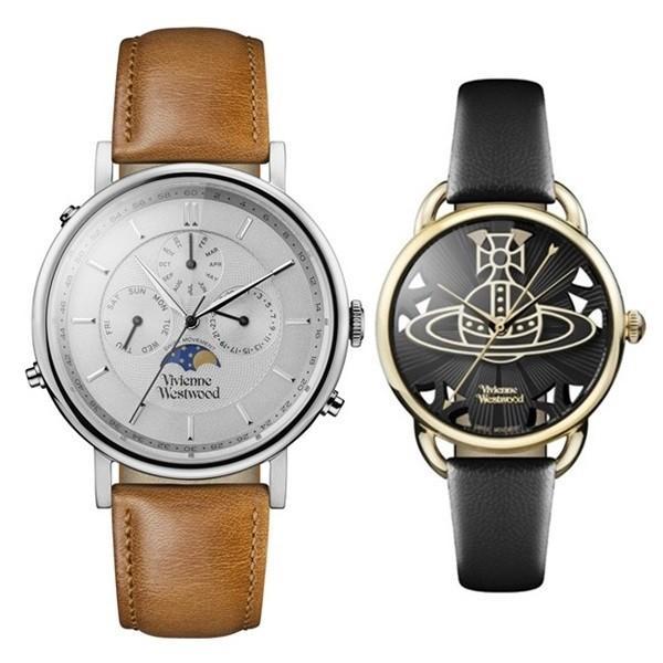 ヴィヴィアン ウエストウッド ペアウォッチ ペアウォッチ レザー ウエストウッド VV164SLTNVV163BKBK あすつく 腕時計 腕時計:55f831b6 --- airmodconsu.dominiotemporario.com