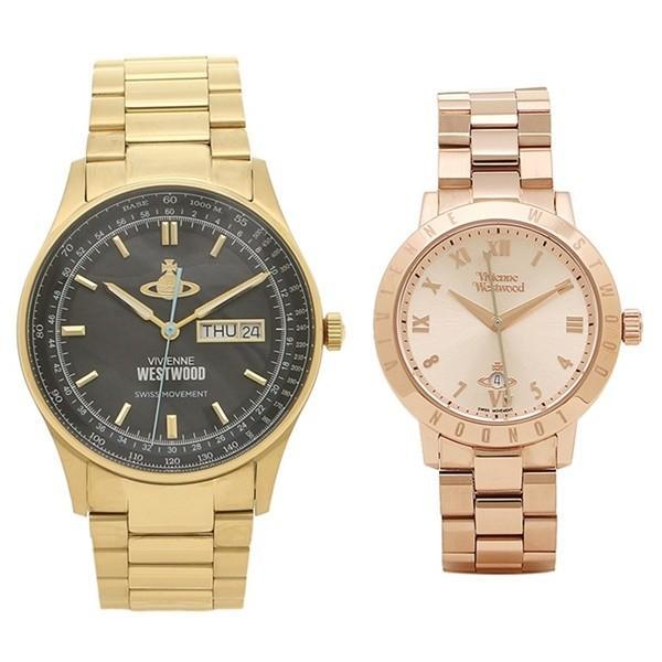 注目 時計収納BOX付!ヴィヴィアンウエストウッド ペア セット ステンレス 腕時計 ゴールド ペア ローズゴールド VV207BKGDVV152RSRS ゴールド あすつく 腕時計, ふるさと21:8b9989a3 --- airmodconsu.dominiotemporario.com