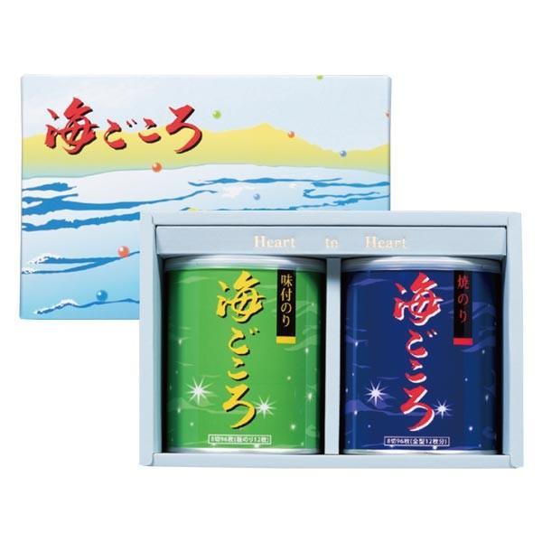 海ごころ 焼のり1缶 味付のり1缶 ご奉仕価格|nori