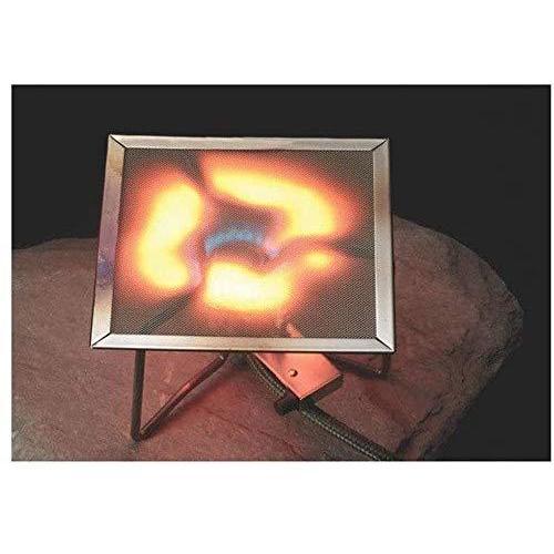ZUPA ステンレス遮熱板【イワタニ ジュニア バーナー CB-JCB 専用】特殊な差込み形状で遮熱板をしっかり固定!耐高温 安全保護 (パッド)|norikencompany|03