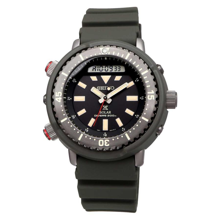 送料無料 腕時計 SEIKO セイコー SNJ031P1 海外モデル PROSPEX プロスペックス アナデジ アーノルド アーニー ダイバースキューバ メンズ|north-star|02