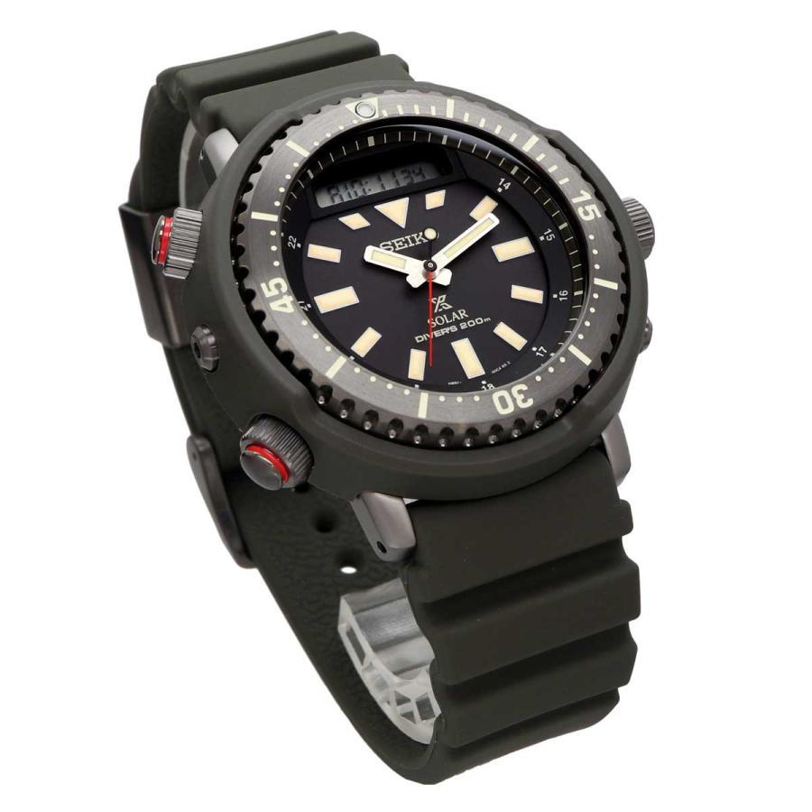 送料無料 腕時計 SEIKO セイコー SNJ031P1 海外モデル PROSPEX プロスペックス アナデジ アーノルド アーニー ダイバースキューバ メンズ|north-star|04