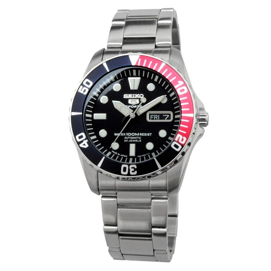 送料無料 新品 腕時計 SEIKO セイコー 日本製 Japan  海外モデル セイコー5 ファイブスポーツ 自動巻き  メンズ SNZF15J1|north-star|02