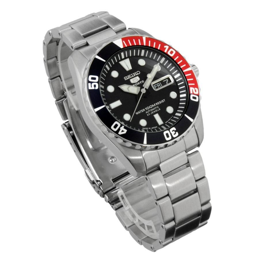 送料無料 新品 腕時計 SEIKO セイコー 日本製 Japan  海外モデル セイコー5 ファイブスポーツ 自動巻き  メンズ SNZF15J1|north-star|04