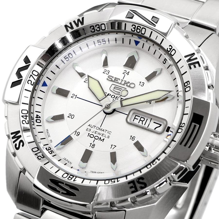送料無料 新品 腕時計 SEIKO セイコー 海外モデル MADE IN JAPAN セイコー5 自動巻き ビジネス カジュアル メンズ SNZJ03J1|north-star