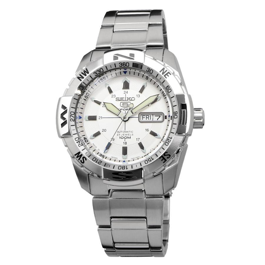 送料無料 新品 腕時計 SEIKO セイコー 海外モデル MADE IN JAPAN セイコー5 自動巻き ビジネス カジュアル メンズ SNZJ03J1|north-star|02