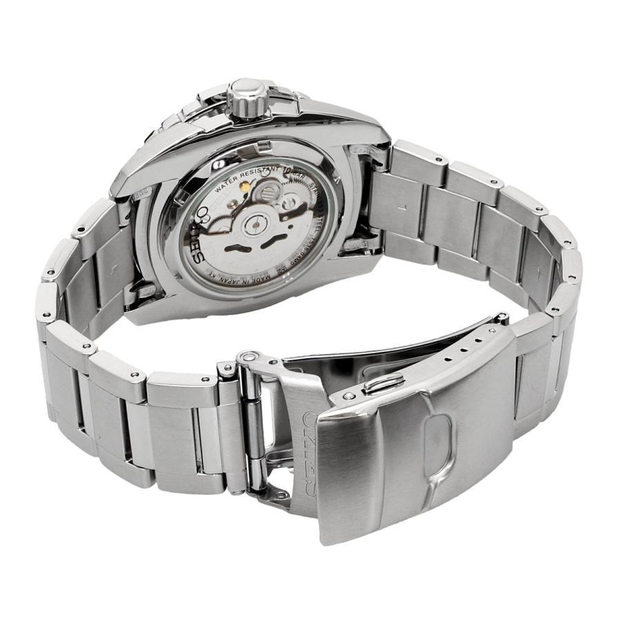 送料無料 新品 腕時計 SEIKO セイコー 海外モデル MADE IN JAPAN セイコー5 自動巻き ビジネス カジュアル メンズ SNZJ03J1|north-star|03