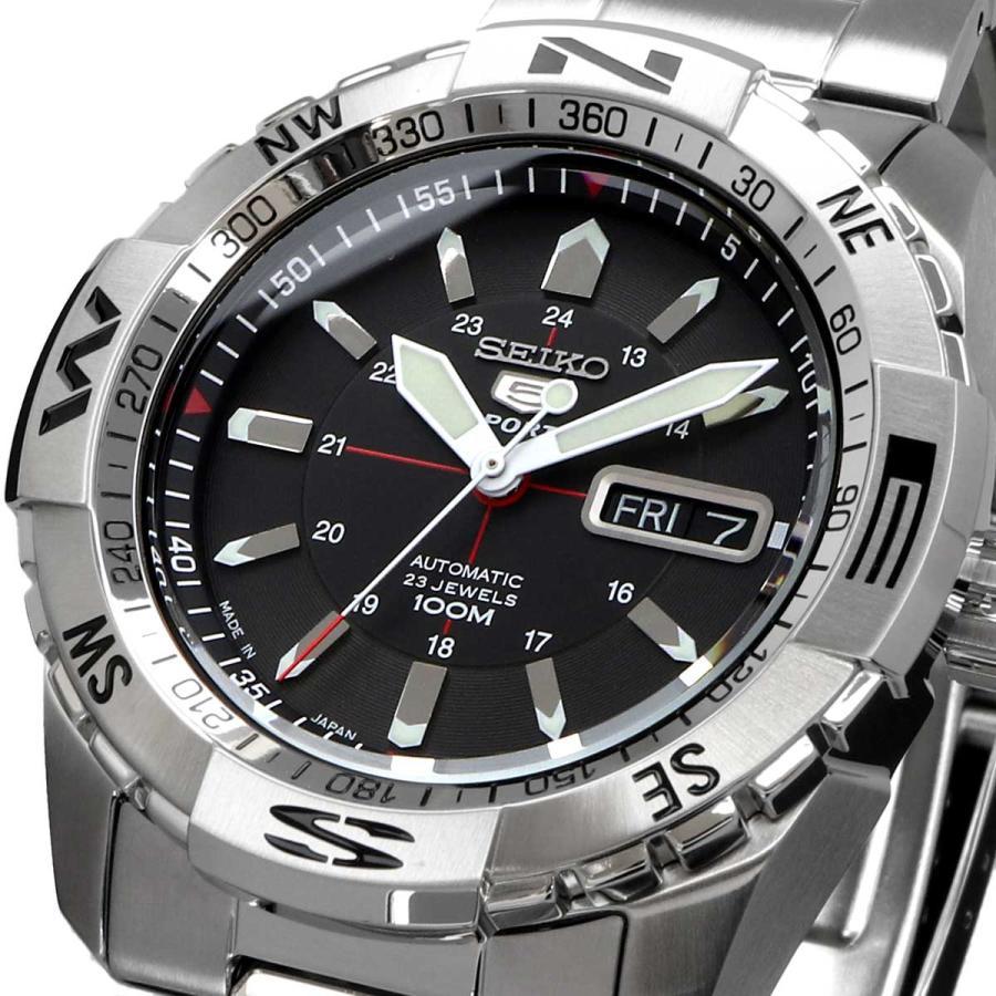 送料無料 新品 腕時計 SEIKO セイコー 海外モデル MADE IN JAPAN セイコー5 自動巻き ビジネス カジュアル メンズ SNZJ05J1 north-star
