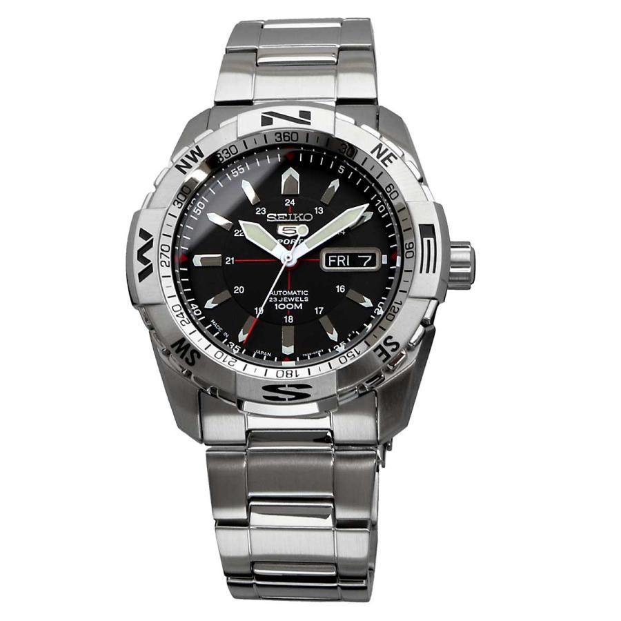 送料無料 新品 腕時計 SEIKO セイコー 海外モデル MADE IN JAPAN セイコー5 自動巻き ビジネス カジュアル メンズ SNZJ05J1 north-star 02