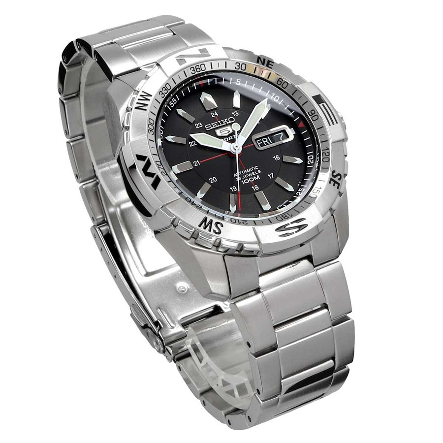 送料無料 新品 腕時計 SEIKO セイコー 海外モデル MADE IN JAPAN セイコー5 自動巻き ビジネス カジュアル メンズ SNZJ05J1 north-star 04