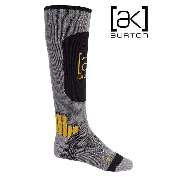 BURTON Men's Burton [ak] Endurance Sock Gray Heather