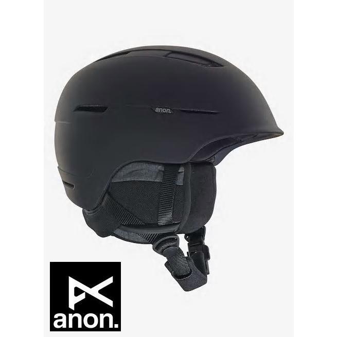 ANON アノン ヘルメット INVERT ASIA Black アジアンフィット 2018-2019
