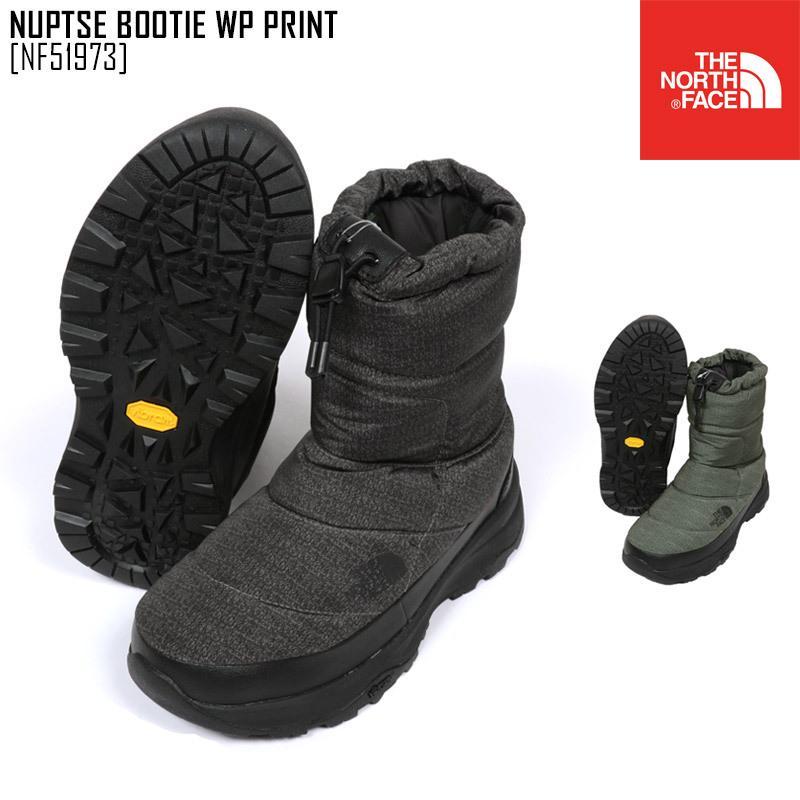 ノースフェイス スノーブーツ メンズ レディース ヌプシブーティー NUPTSE BOOTIE WP PRINT スノーシューズ アウトドアブランド NF51973