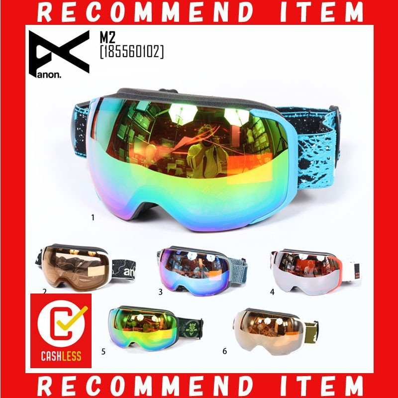 19-20 ANON アノン ゴーグル メンズ M2 スノーボード スノボ スキー ユニセックス ジャパンフィット