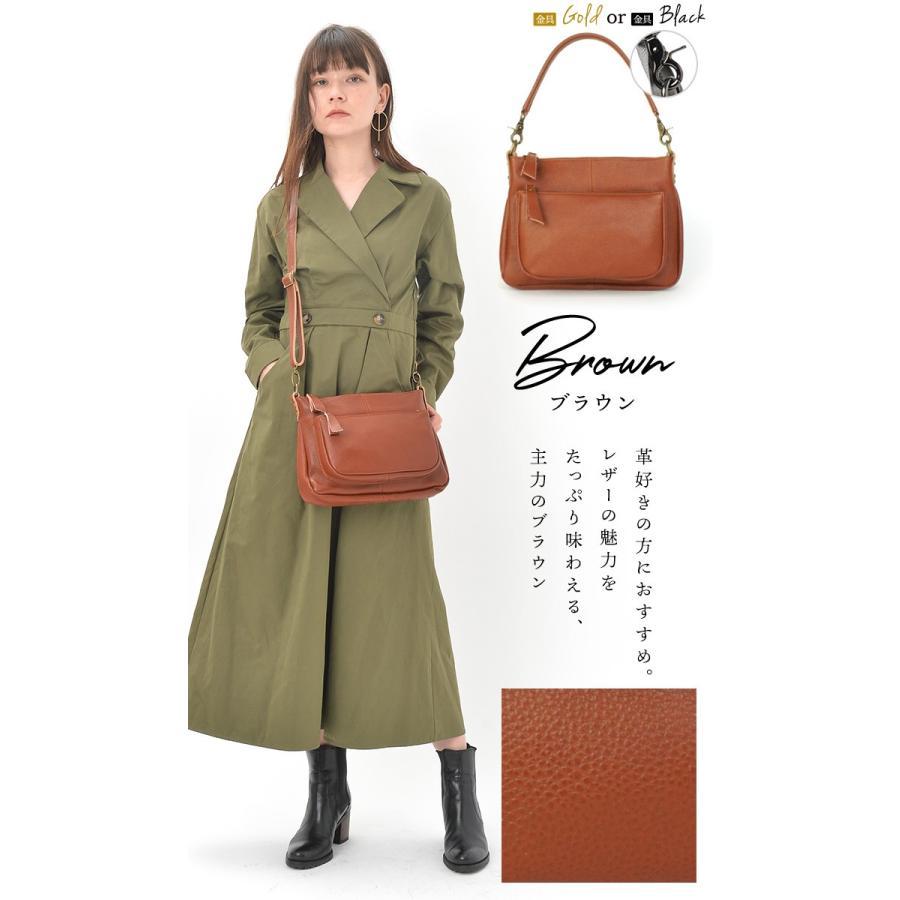 アリエル 本革 ショルダーバッグ レディース 斜めがけ 通勤バッグ 旅行バッグ ハンドバッグ 2way 革 牛革 小さめ 軽い 軽量 レザー 女性|notrefavori|10