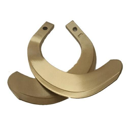 クボタ トラクター爪 42本 61-119-01 ゴールド爪 ロータリー爪 耕うん爪