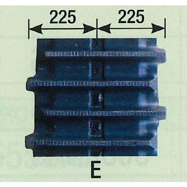 KBL コンバインゴムクローラ 450×90W×52コマ Eパターン 2本セット