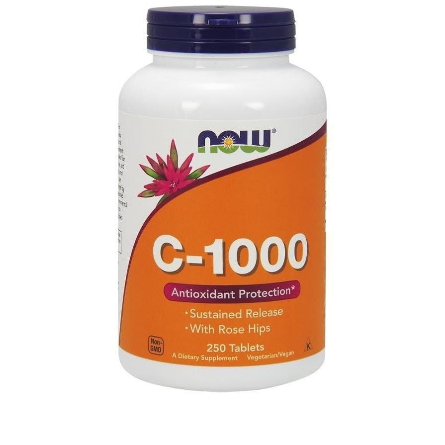 ビタミンC-1000 ナウフーズ 250錠 Now Foods C-1000 250 Tablets