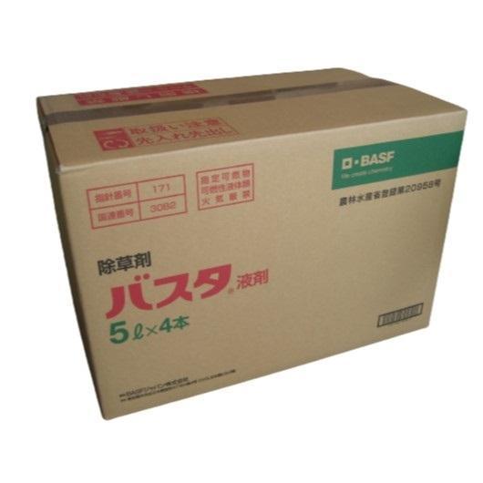 バスタ液剤 5L 4本入り1ケース|noyaku-com
