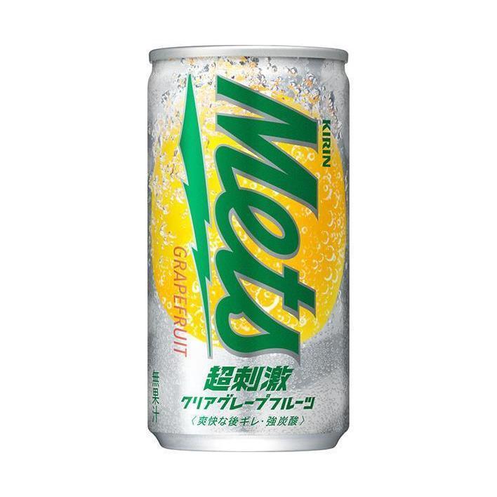 送料無料 【2ケースセット】キリン Mets(メッツ) 超刺激クリア グレープフルーツ 190ml缶×20本入×(2ケース)|nozomi-market