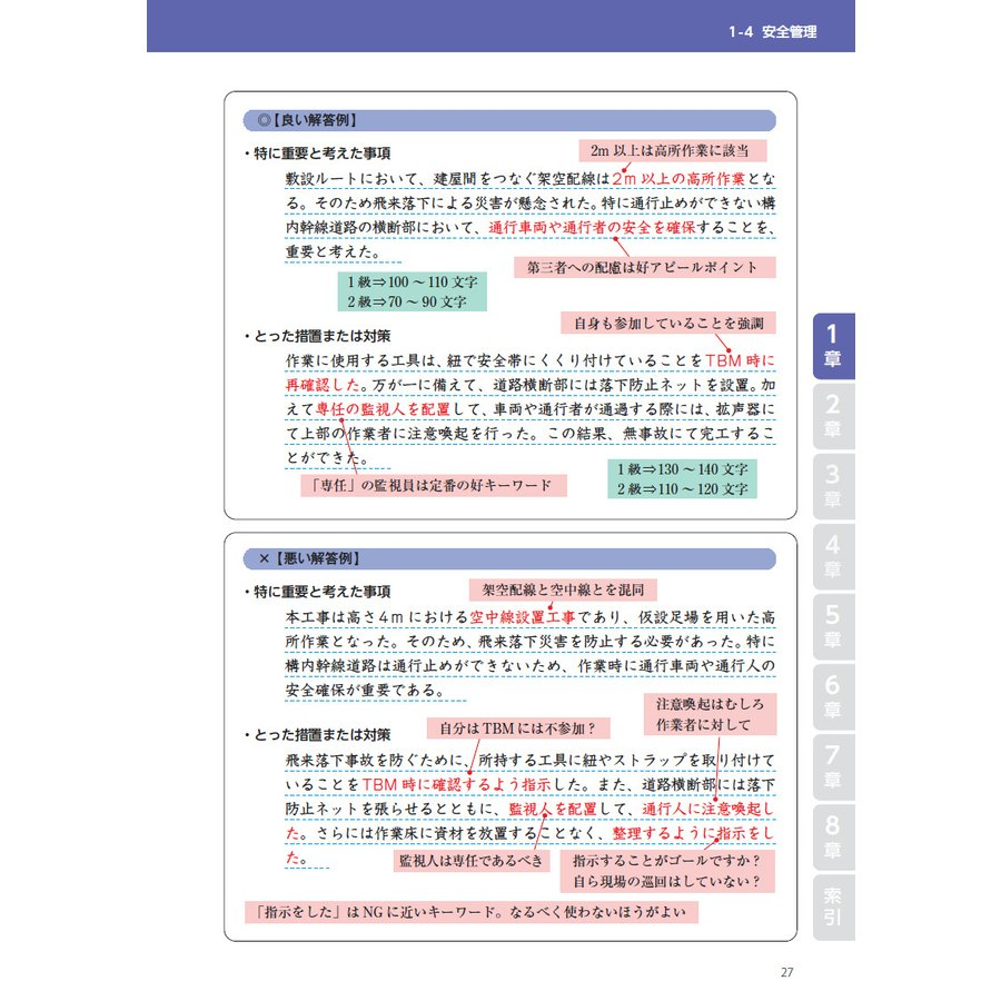 2021年版 電気通信工事施工管理技士 突破攻略 1級2級・2次検定編 nozomi-tn 04