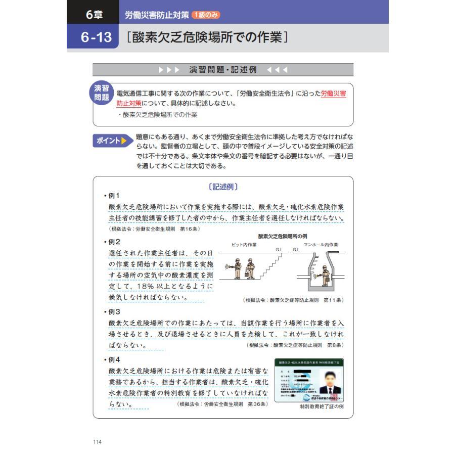 2021年版 電気通信工事施工管理技士 突破攻略 1級2級・2次検定編 nozomi-tn 07