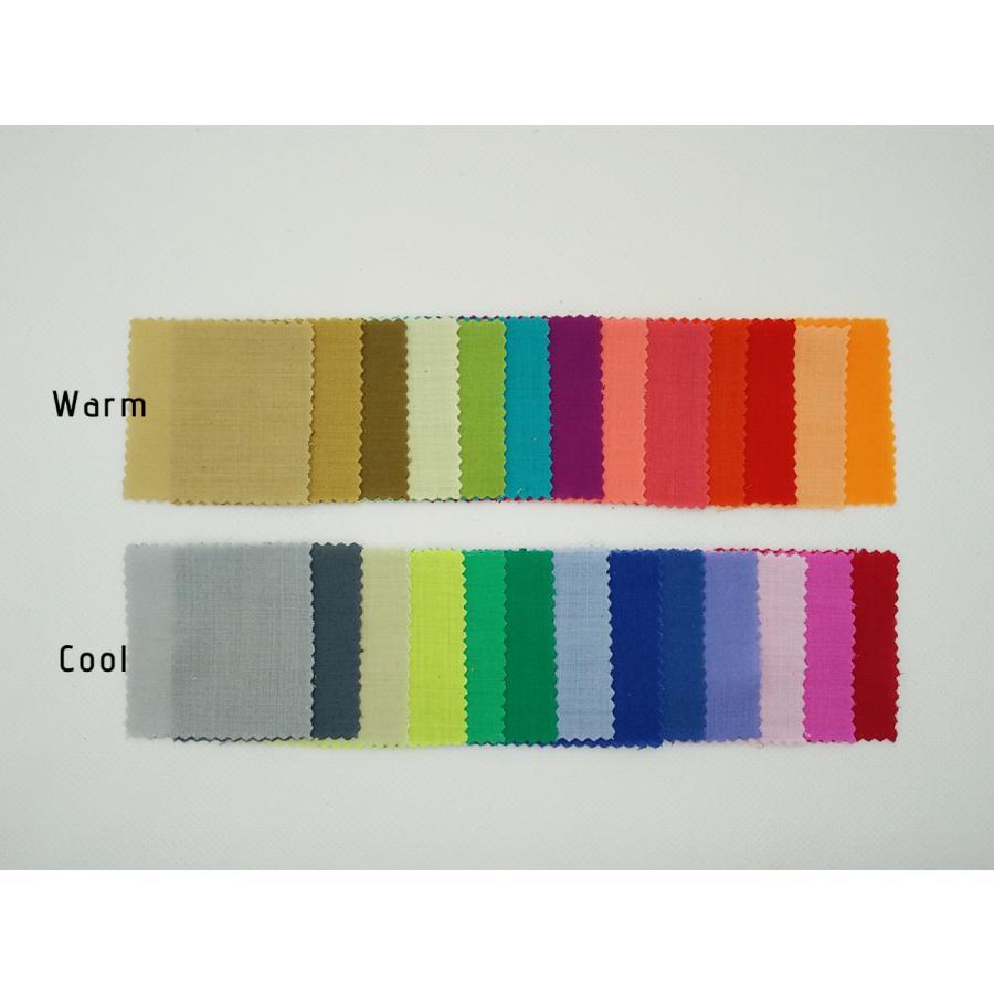パーソナルカラー ドレープ生地 小布 130枚 10タイプカラリスト 学習用 生地見本|nrkcolorshop2|04