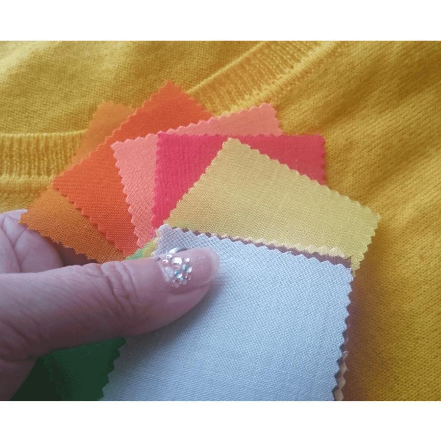 期間限定 単品販売 パーソナルカラー タイプ別 布見本 20色 スウォッチ  人気商品 洋服 色確認 10タイプ お客様 お土産 プレゼント|nrkcolorshop2|04