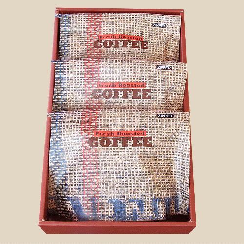 【宅急便指定】セレクト・コーヒーギフト 浅煎り 200グラム3種類  nsforest 02