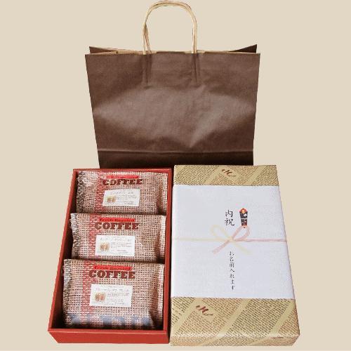 【宅急便指定】セレクト・コーヒーギフト 浅煎り 200グラム3種類  nsforest 04