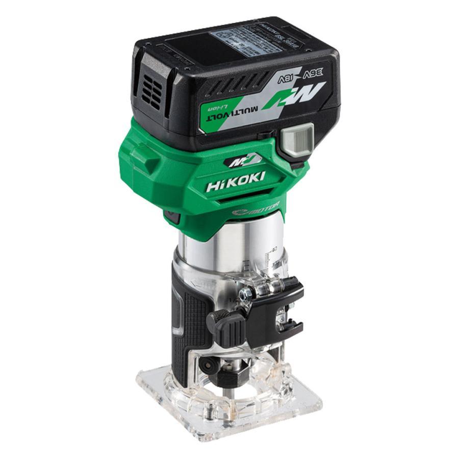 HiKOKI M3608DA(XP) コードレストリマ 36V-2.5Ah(電池・充電器・ケース付)|nst